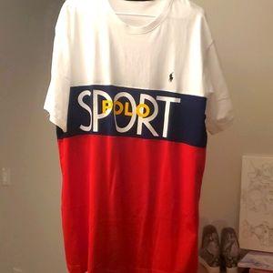 New Polo Sport Ralph Lauren Tall in mens size XLT